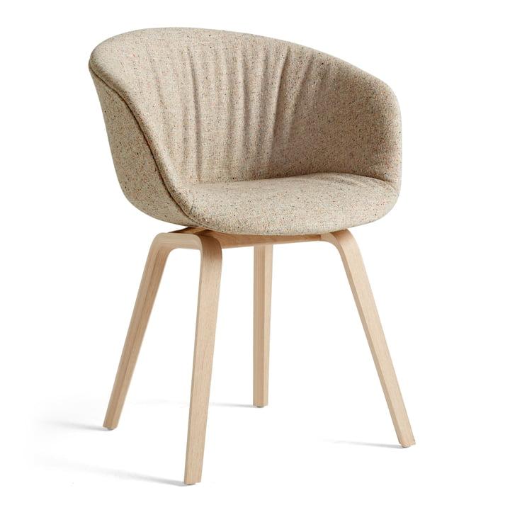 About A Chair AAC 23 Soft von Hay in der Variante Eiche matt lackiert / Vollpolster Bolgheri LGG60