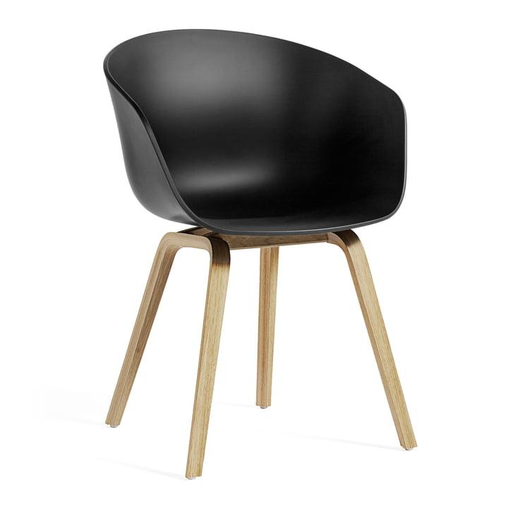 About A Chair AAC 22 ECO von Hay in Eiche / schwarz