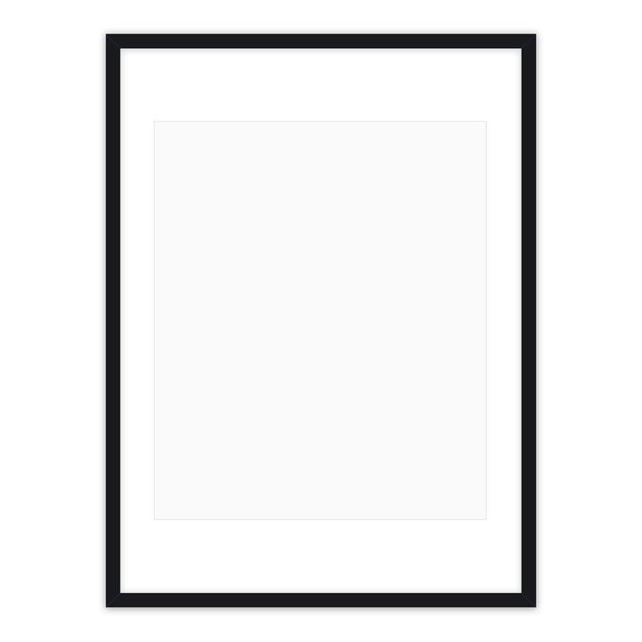 Posterrahmen 50 x 70 cm, schwarz von Connox Collection