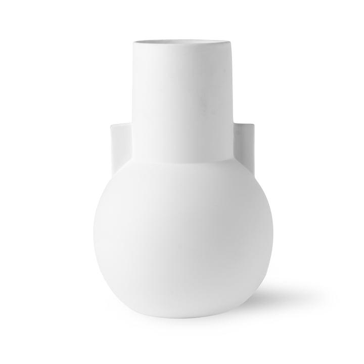 Vase S, Ø 17,5 x H 26 cm, matt weiss von HKliving