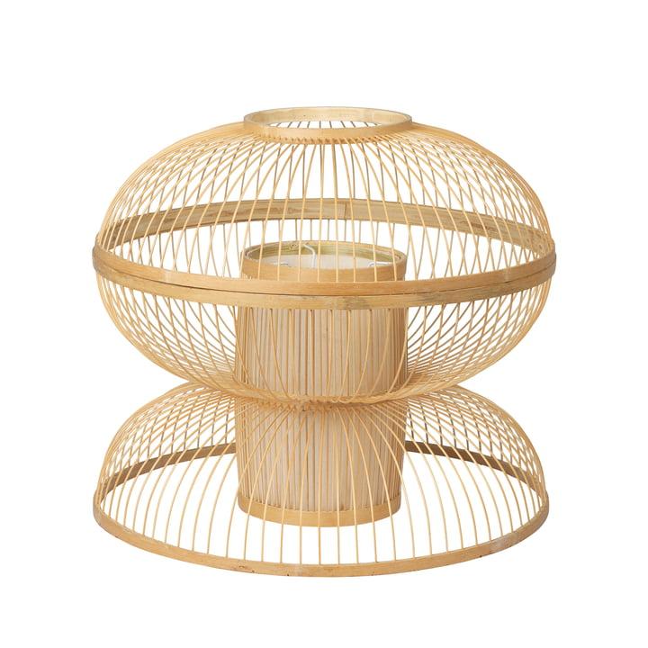 Sabbie Bambus-Lampenschirm, Ø 42 x H 40 cm, natur von Broste Copenhagen