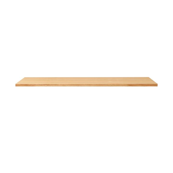 Linear Tischplatte, 125 x 68 cm, Eiche von Form & Refine