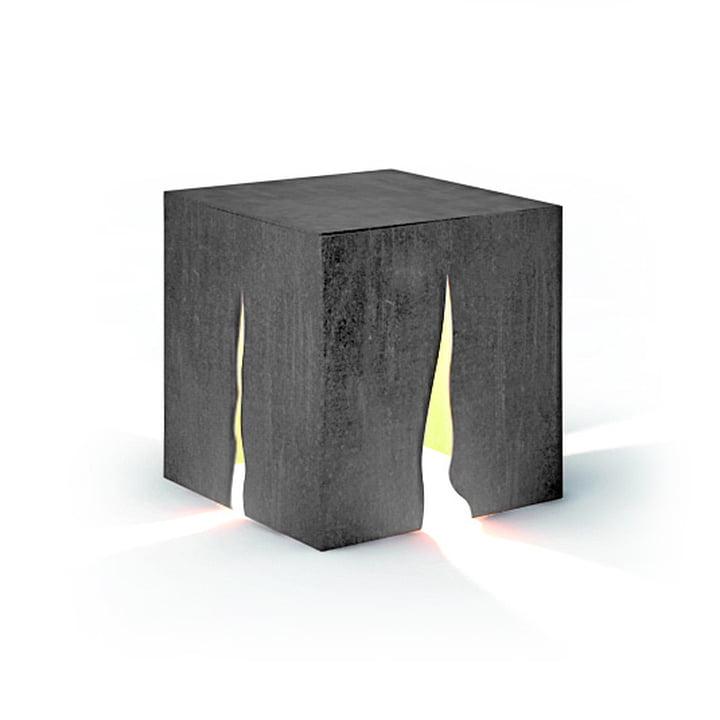 Granito Outdoor Stehleuchte H 30 cm, grau von Artemide