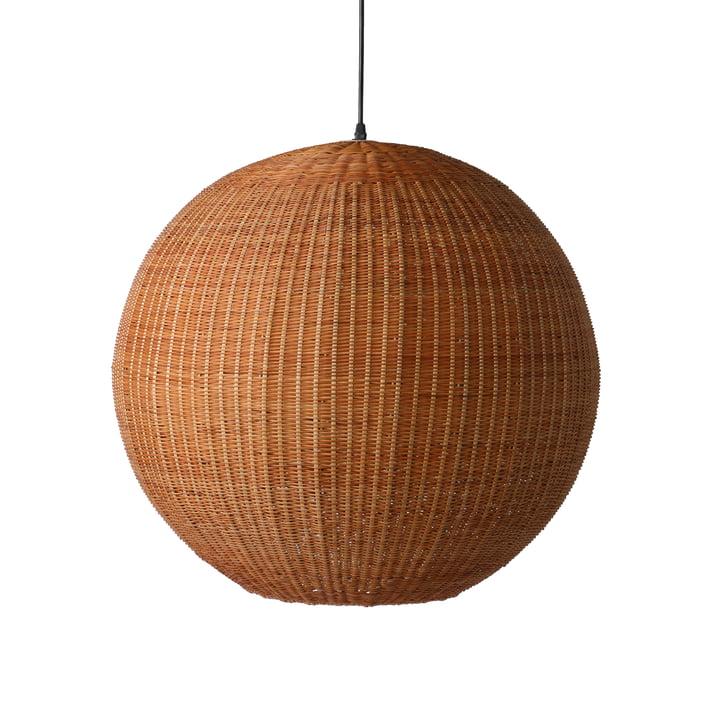 Die Bambus Pendelleuchte Ball, Ø 60 cm, natur von HKliving
