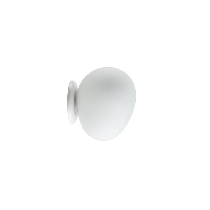 Die Gregg Wand- und Deckenleuchte LED, piccola/ weiss von Foscarini