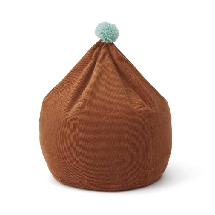 Corduroy Sitzsack, karamell von OYOY