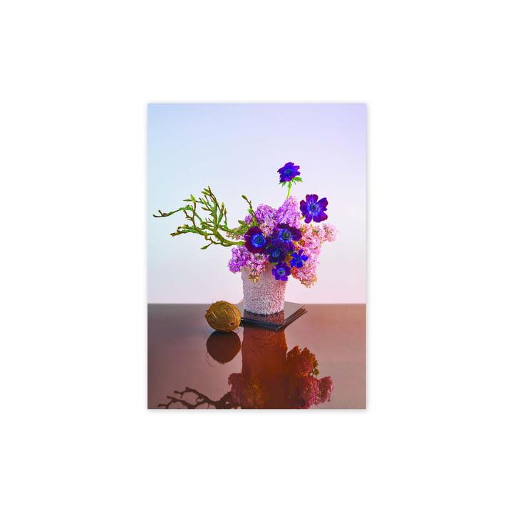 Das BLOOM 01 Amber Poster, 30 x 40 cm von Paper Collective
