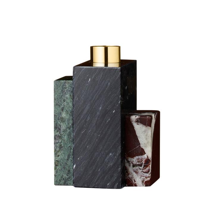 Der Frustum Kerzenhalter, H 9,5 cm, mehrfarbig von AYTM