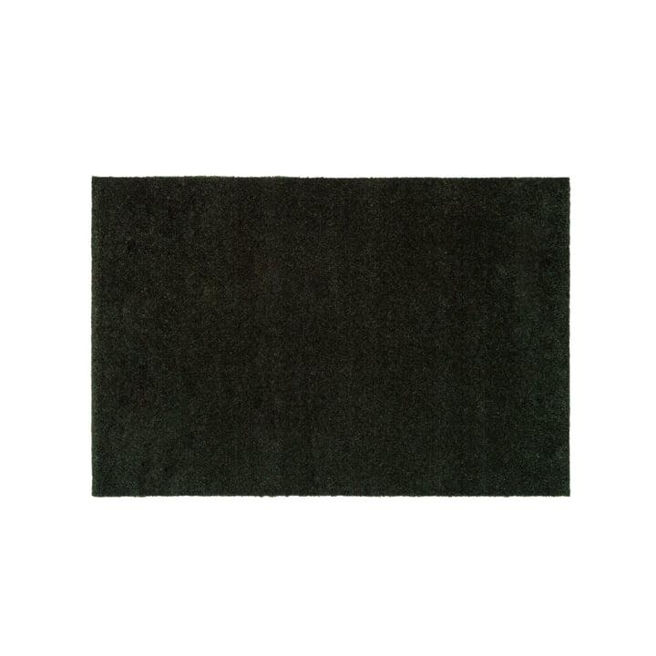 Die Fussmatte Unicolor in dunkelgrün von tica copenhagen