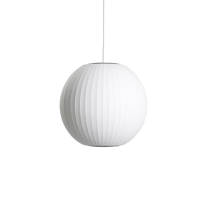 Nelson Ball Bubble Pendelleuchte S, Ø 32.5 x H 30.5 cm, off white von Hay