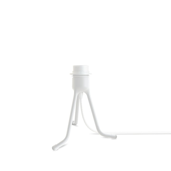 Umage - Tripod für Tischleuchten, H 18.6 cm, matt weiss