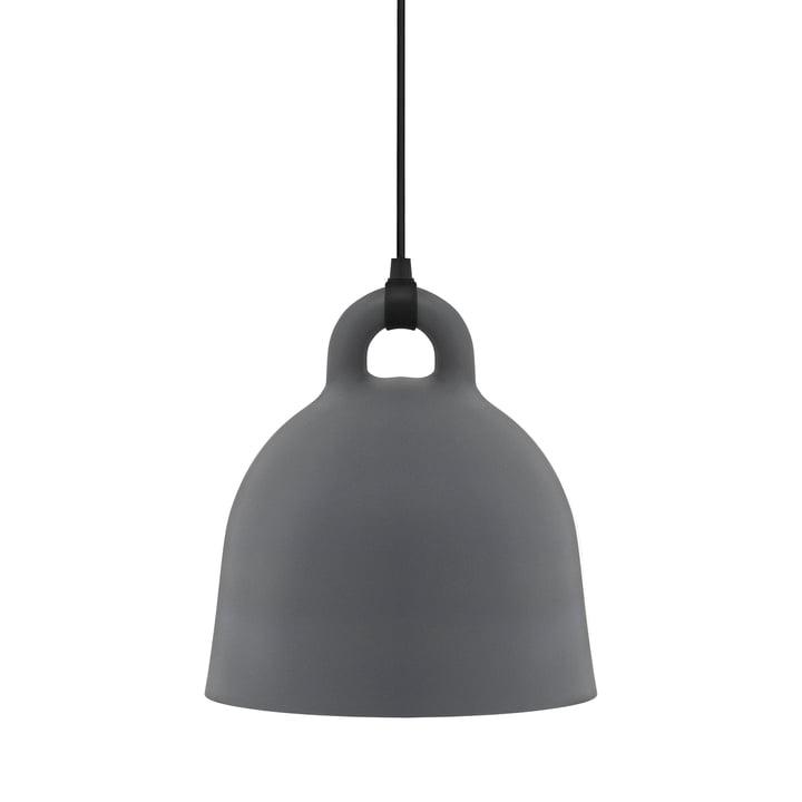 Bell Pendelleuchte von Normann Copenhagen in grau (medium)