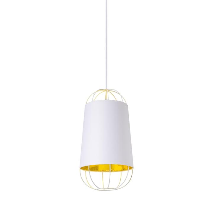 Lanterna Pendelleuchte small von Petite Friture in Weiss / Gold