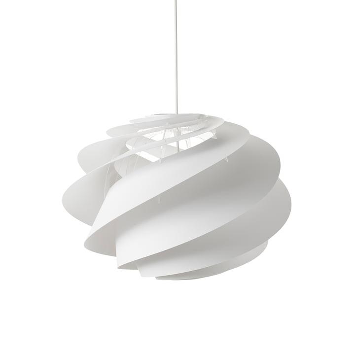 Swirl 1 Pendelleuchte Ø 45 cm von Le Klint in Weiss