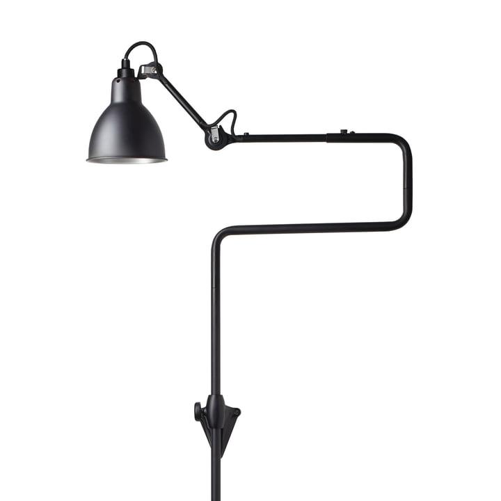 Lampe Gras No 217 Wandleuchte, schwarz / schwarz von DCW