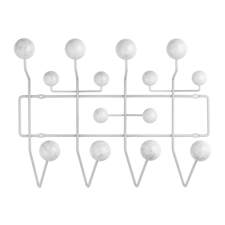 Hang it all Garderobe, Marmor / soft grey (Limited Edition) von Vitra