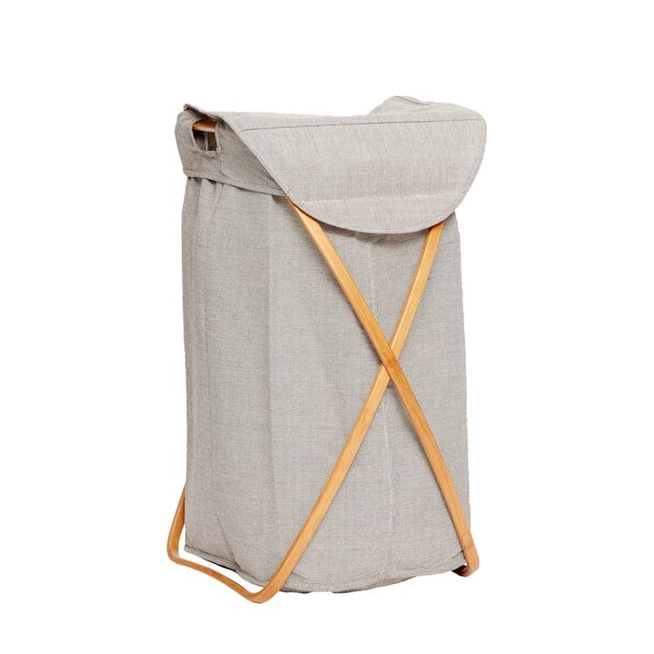Der Wäschekorb von Hübsch Interior in grau