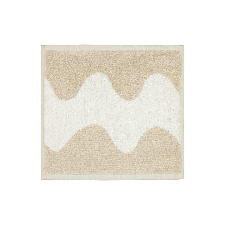 Das Lokki Mini-Handtuch von Marimekko in beige / weiss
