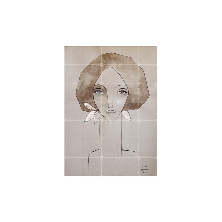 Das Olive Wandbild von IXXI, 100 x 140 cm
