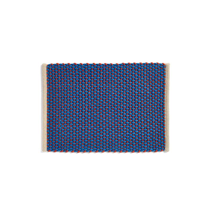 Door Mat Fussabtreter, 50 x 70 cm, blau von Hay