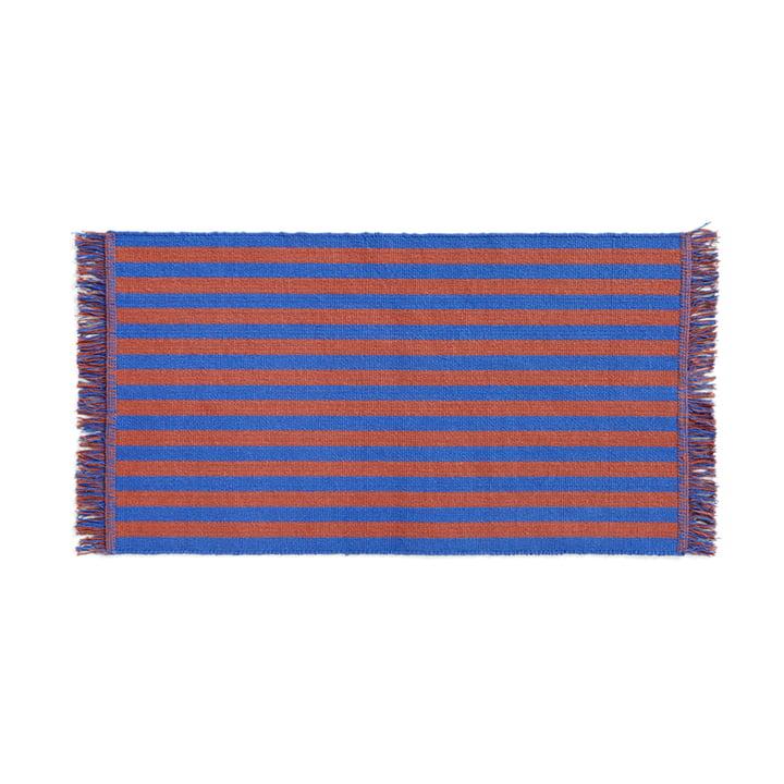 Stripes Fussmatte, 52 x 95 cm, cacao sky von Hay