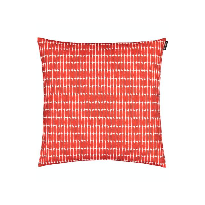 Der Alku Kissenbezug  von Marimekko, 45 x 45 cm, weiss / rot
