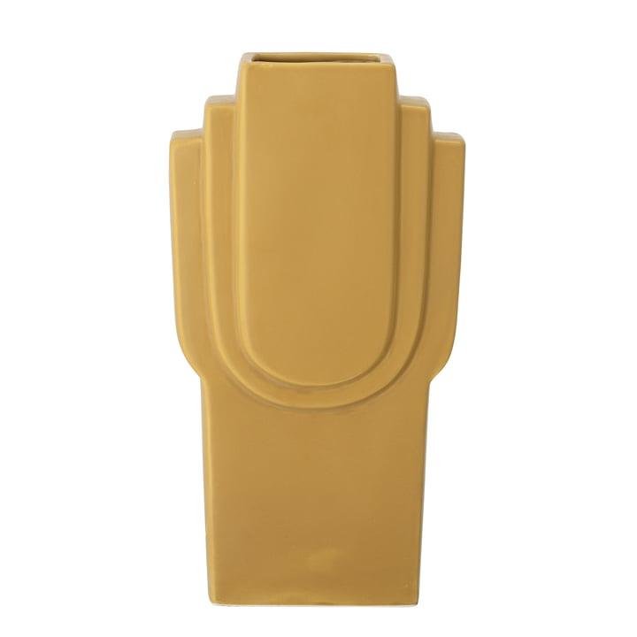 Die Ata Vase von Bloomingville in gelb, H 30,5 cm