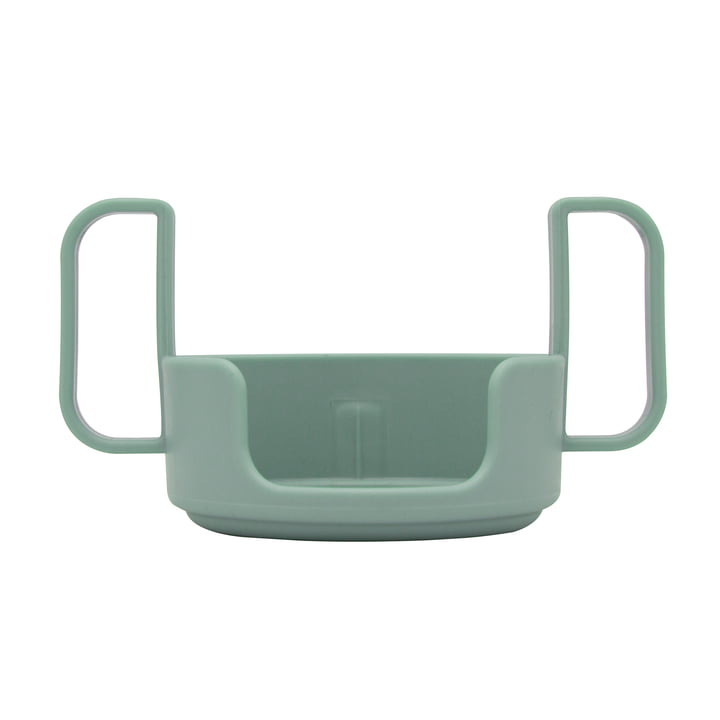 Die Halterung für das AJ Trinkglas von Design Letters in grün