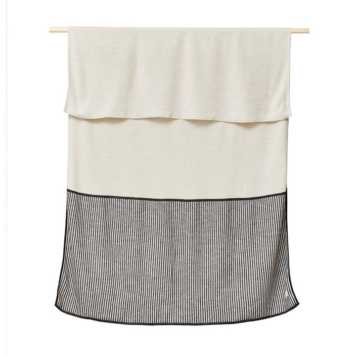 Aymara Decke, 130 x 170 cm, rib creme von Form & Refine