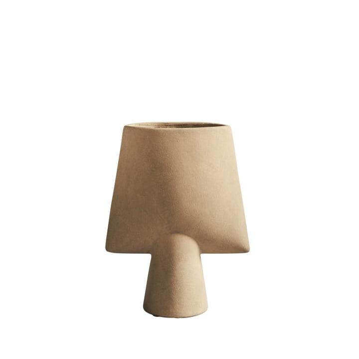Die Sphere Vase Square Mini von 101 Copenhagen, sand / beige