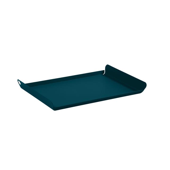 Das Tablet Alto klein von Fermob, acapulcoblau