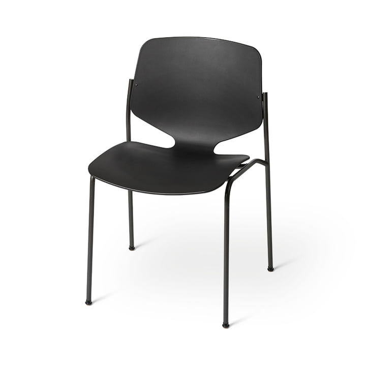 Nova Sea Stuhl, schwarz von Mater
