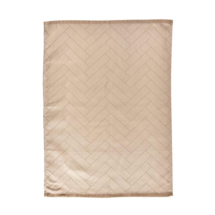 Das Tiles Geschirrtuch von Södahl, 50 x 70 cm, beige