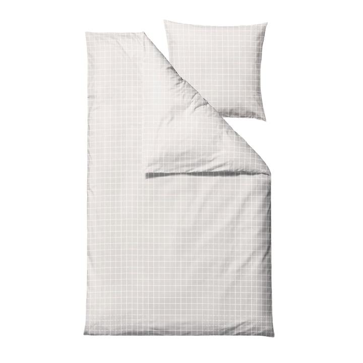 Die Clear Damask Bettwäsche von Södahl, 135 x 200 cm, weiss