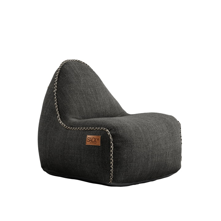 Der RETRO it Cobana Junior Outdoor Sitzsack von SACK it, grau