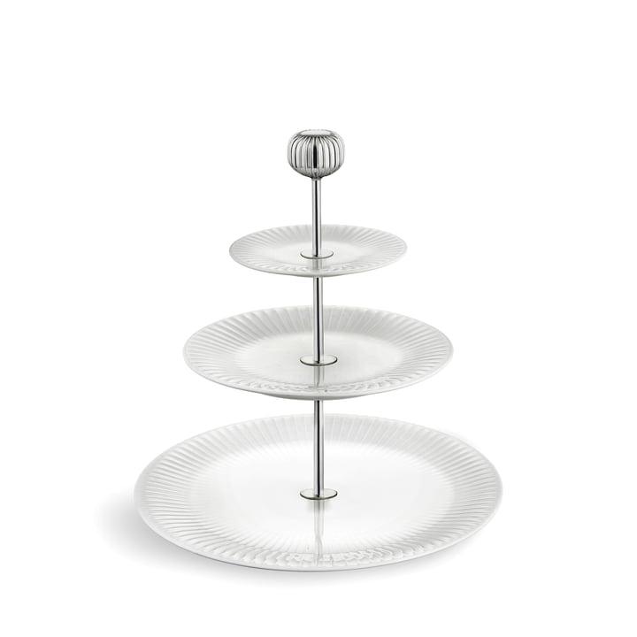 Hammershøi Etagere Ø 28 cm von Kähler Design in weiss