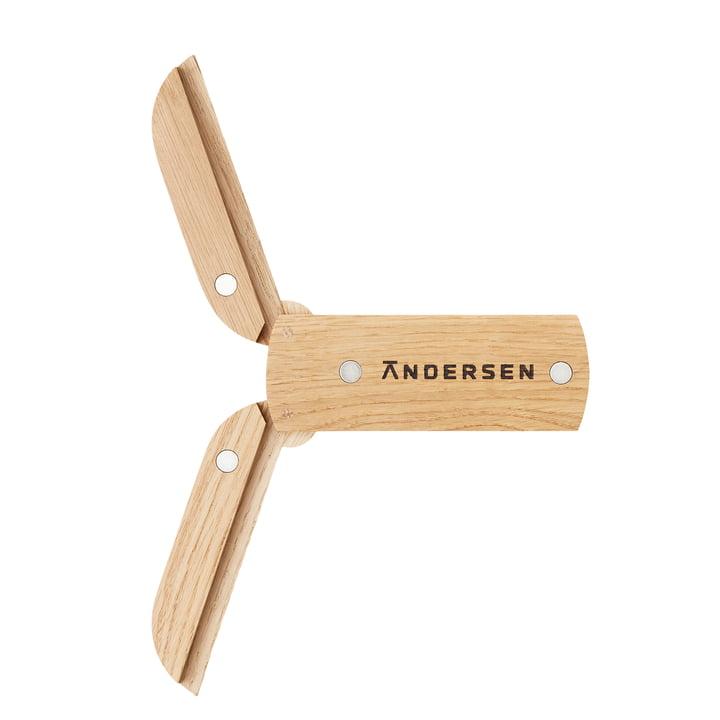 Der Magnetic Wood Topfuntersetzer von Andersen Furniture