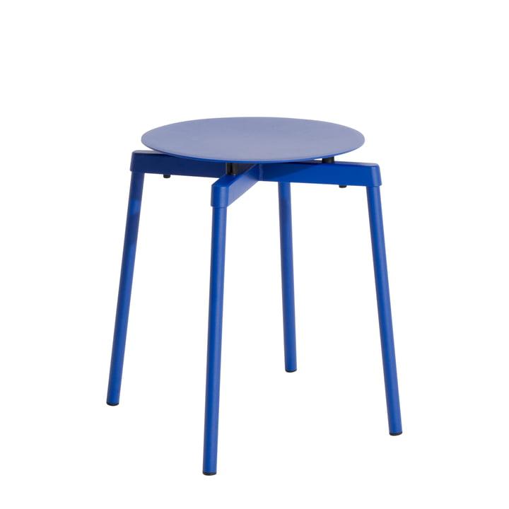 Fromme Hocker Outdoor von Petite Friture in der Farbe blau