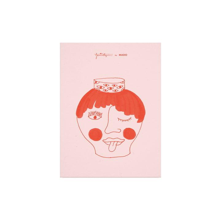 Das Tongy Pongy Poster von Paper Collective, 30 x 40 cm