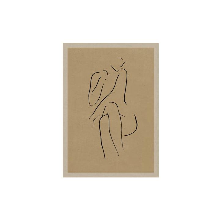 Das Grace I Poster von Lemon für Paper Collective, 30 x 40 cm