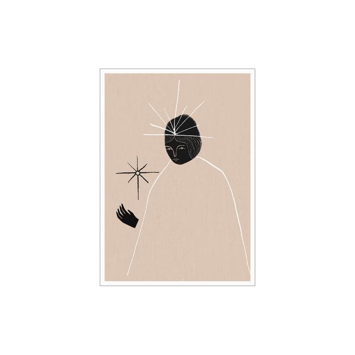 Das Ghost Queen Poster von Paper Collective, 30 x 40 cm
