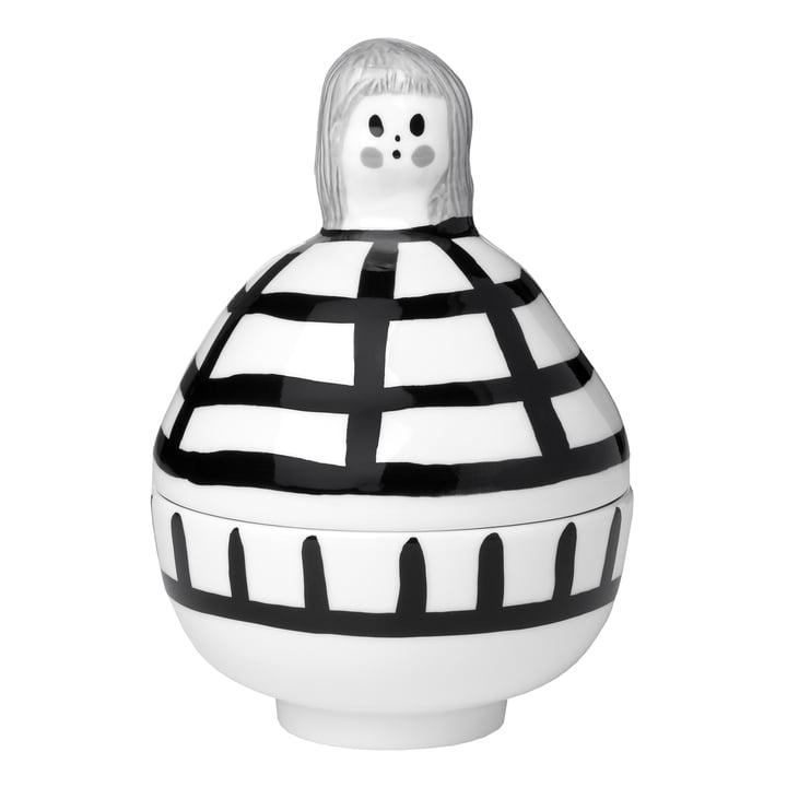 Das Rauha Collectible von Marimekko, weiss / schwarz / grau (Herbst 2021)