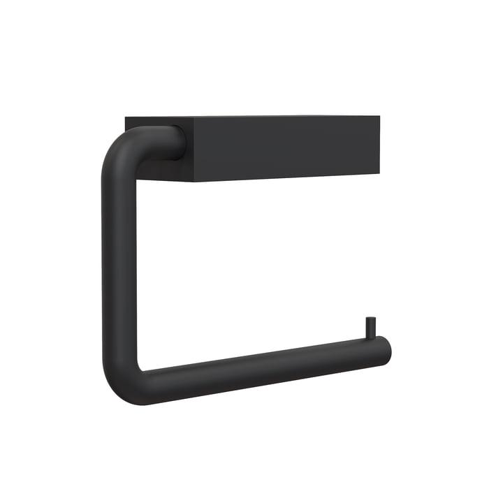 Der Quadra WC-Rollenhalter 3 von Frost, schwarz