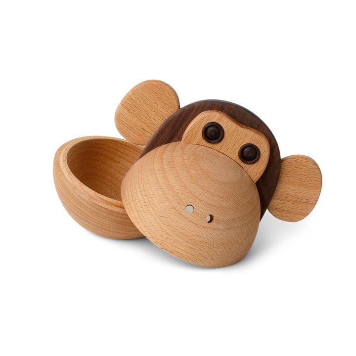 Monkey Bowl Holzdose von Spring Copenhagen
