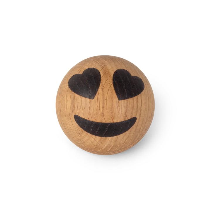 Spring Emotions Holz Emoticon von Spring Copenhagen in der Variante Herzaugen