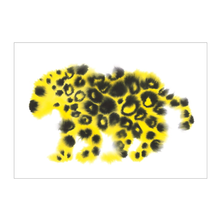 Jaguar Poster 50 x 67,8 cm von The Wrong Shop in mehrfarbig