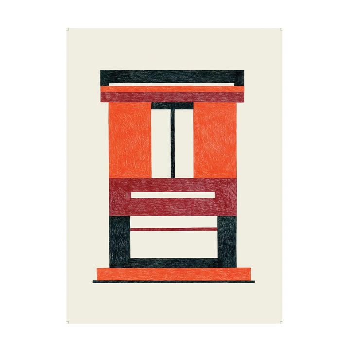 Caldo Poster 47,5 x 67,5 cm von The Wrong Shop in mehrfarbig
