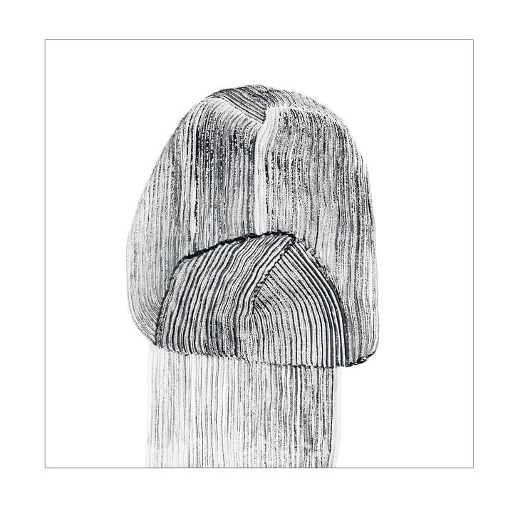 Drawing 9 Poster 67,5 x 67,5 cm von The Wrong Shop in schwarz / weiss