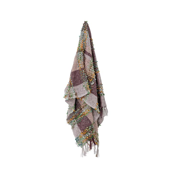 Laj Decke, 150 x 130 cm, lila von Bloomingville