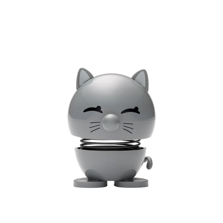 Cat, klein / cool grey von Hoptimist